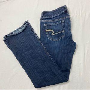 American Eagle Ladies Dark Wash Denim Jeans